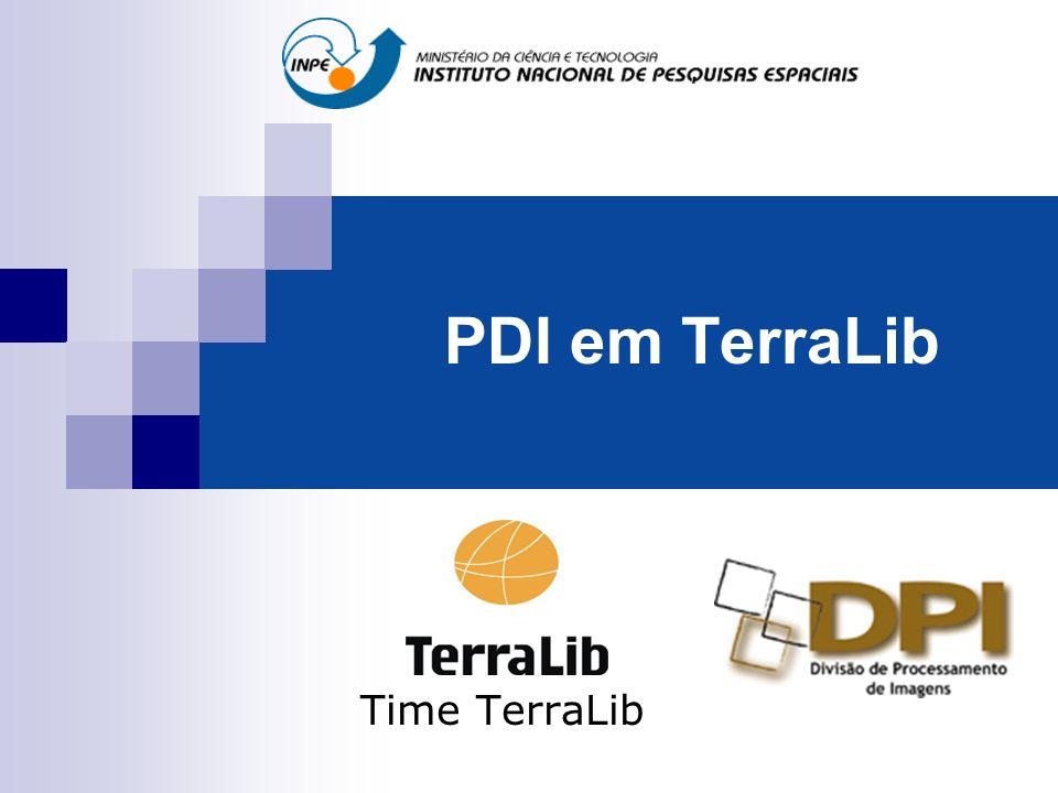 PDI em TerraLib Time TerraLib