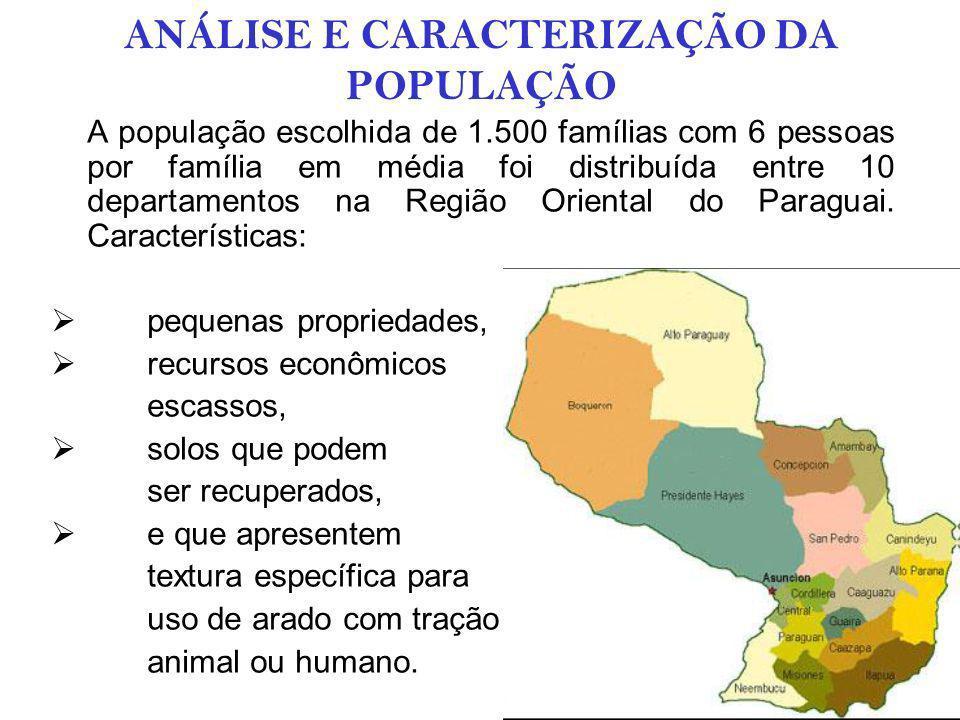 ANÁLISE DE OFERTA E DEMANDA QUANTIFICAÇÃO DA DEMANDA A primeira esta formada por 1.500 agricultores/produtores que querem um câmbio de seu sistema de produção para aumentar seus rendimentos.