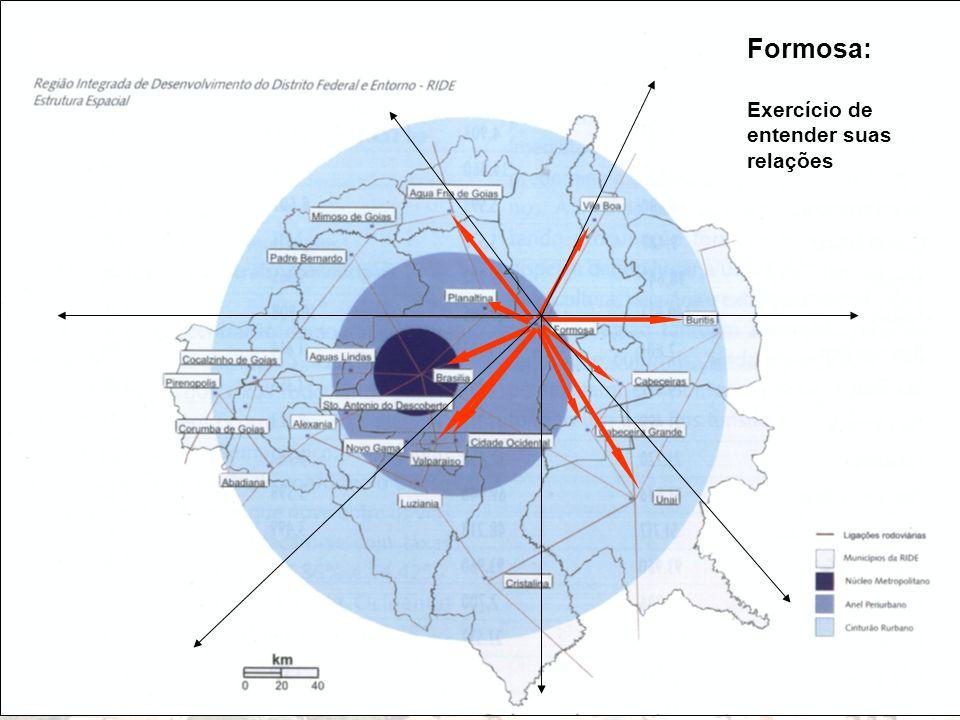 Limitações para expansão urbana