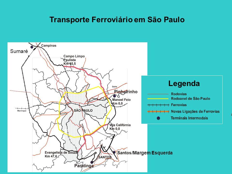 /Margem Esquerda Sumaré Transporte Ferroviário em São Paulo