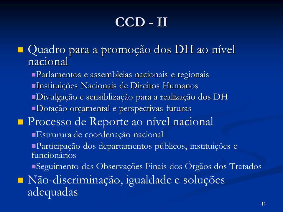10 . DCC - I .