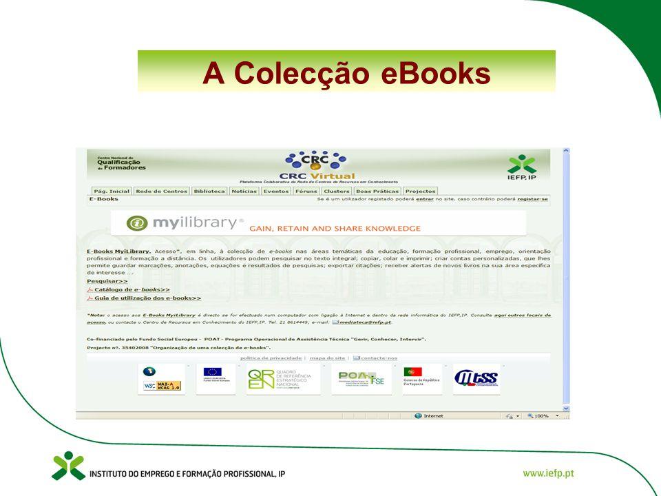 A Colecção eBooks
