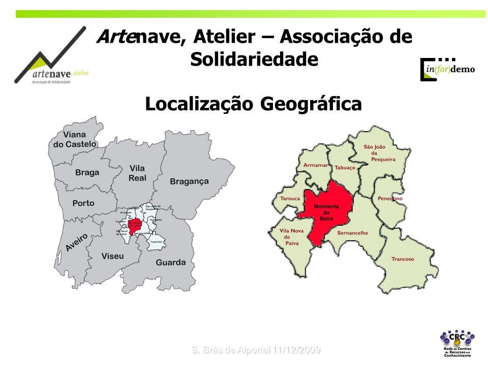 Localização Geográfica S. Brás de Alportel 11/12/2009 Artenave, Atelier – Associação de Solidariedade