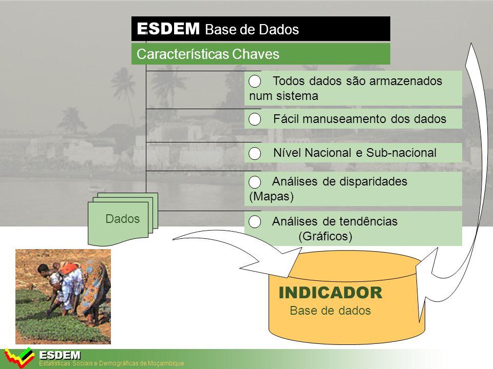 Adaptado da Tecnologia DevInfo para Moçambique MAIO, 2005 ESDEM