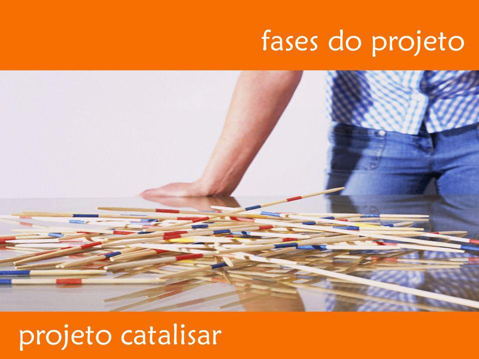 fases do projeto projeto catalisar