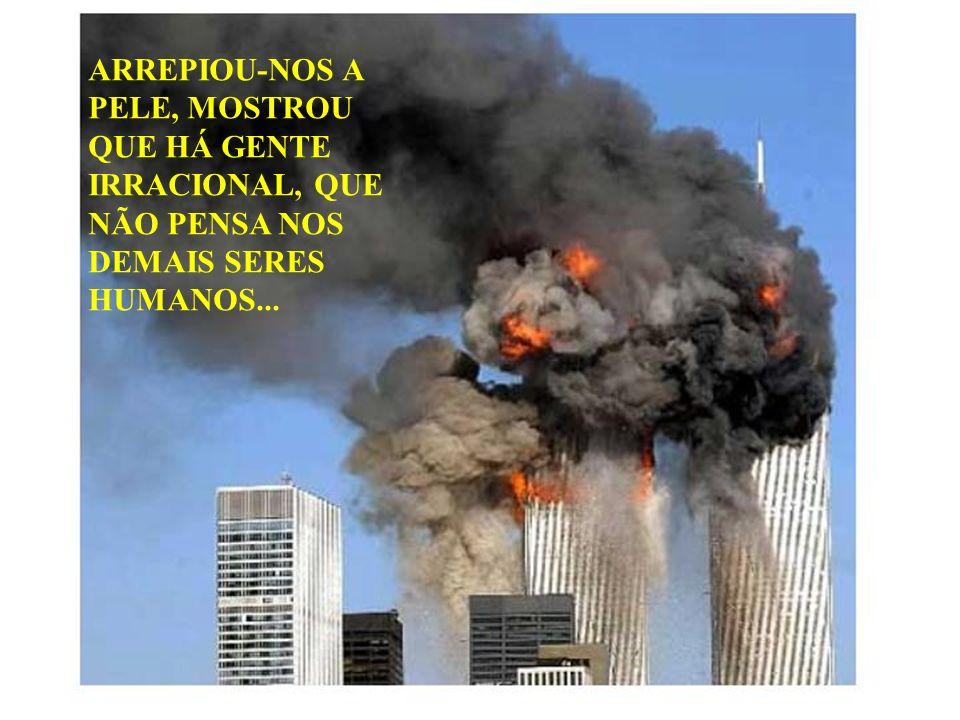 VOCÊ VIU ESTA ATROCIDADE. ALGO TERRÍVEL E INJUSTIFICÁVEL...