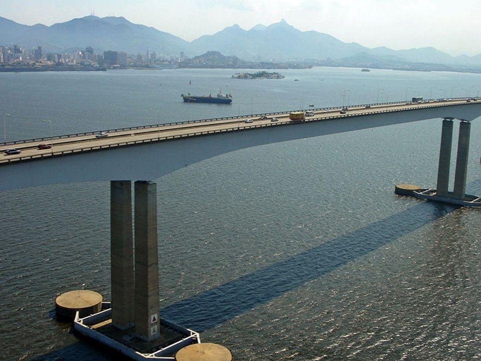 PONTE RIO-NITERÓI 31 DE MARÇO DE 2009 13 CONSTRUÍDA NO PERÍODO DE 1969 A 1974