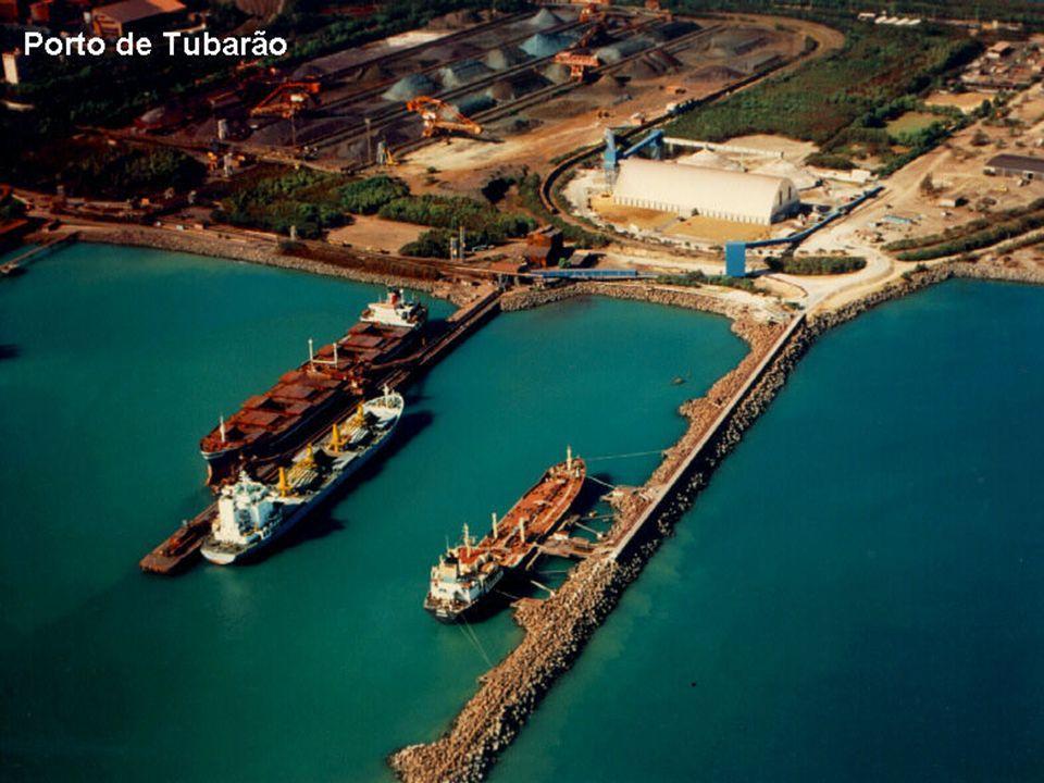 PORTO DE TUBARÃO - ES 31 DE MARÇO DE 2009 47 O Porto de Tubarão é um porto brasileiro localizado na ponta do mesmo nome, na parte continental do munic