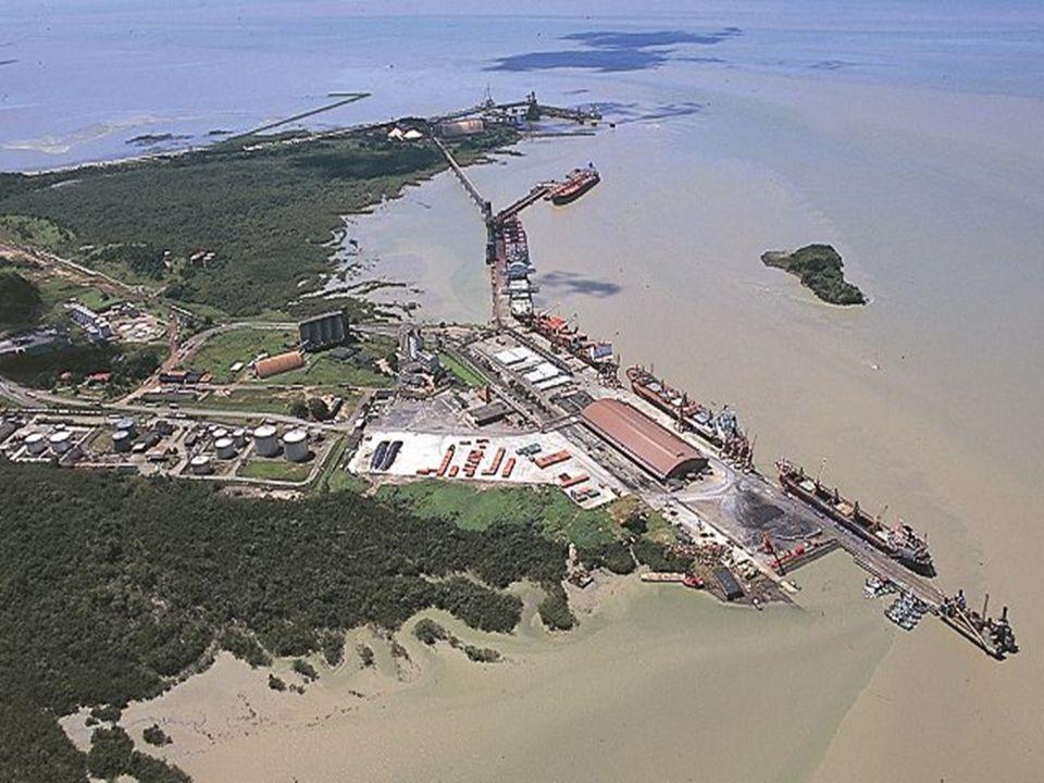 PORTO DE ITAQUI - MA 31 DE MARÇO DE 2009 49 O Porto do Itaqui está localizado no interior da Baía de São Marcos e seu acesso hidroviário não conta com a formação de barra.