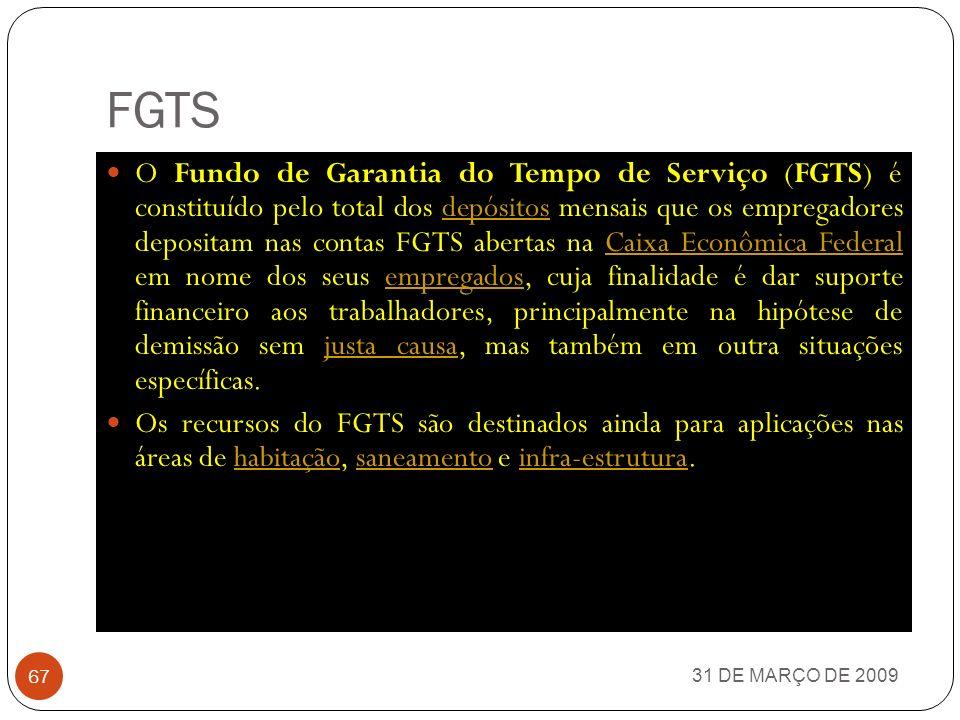 EMBRAPA 31 DE MARÇO DE 2009 66 A Empresa Brasileira de Pesquisa Agropecuária (EMBRAPA) é uma instituição pública brasileira vinculada ao Ministério da