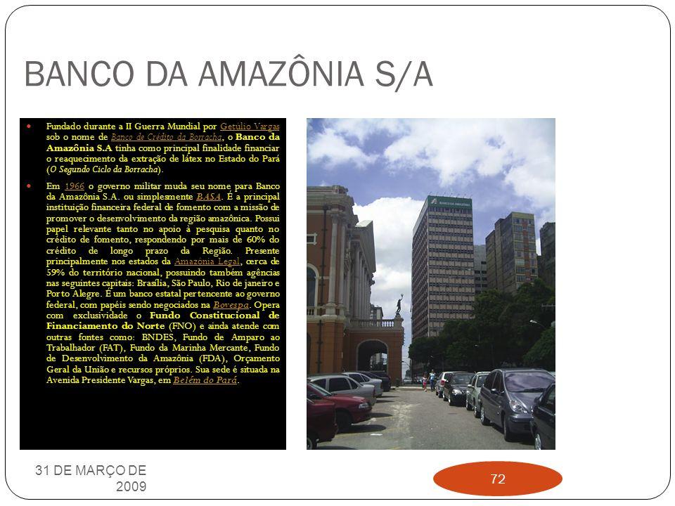 BANCO CENTRAL DO BRASIL O Banco Central do Brasil é autarquia federal integrante do Sistema Financeiro Nacional, sendo vinculado ao Ministério da Fazenda do Brasil.