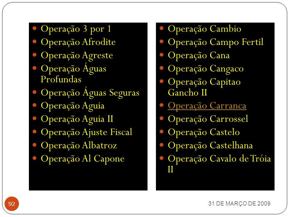 31 DE MARÇO DE 2009 91 DESBARATANDO RATOS