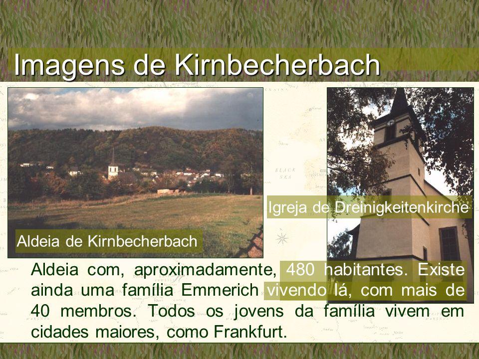 Imagens de Kirnbecherbach Igreja de Dreinigkeitenkirche Aldeia de Kirnbecherbach Aldeia com, aproximadamente, 480 habitantes. Existe ainda uma família