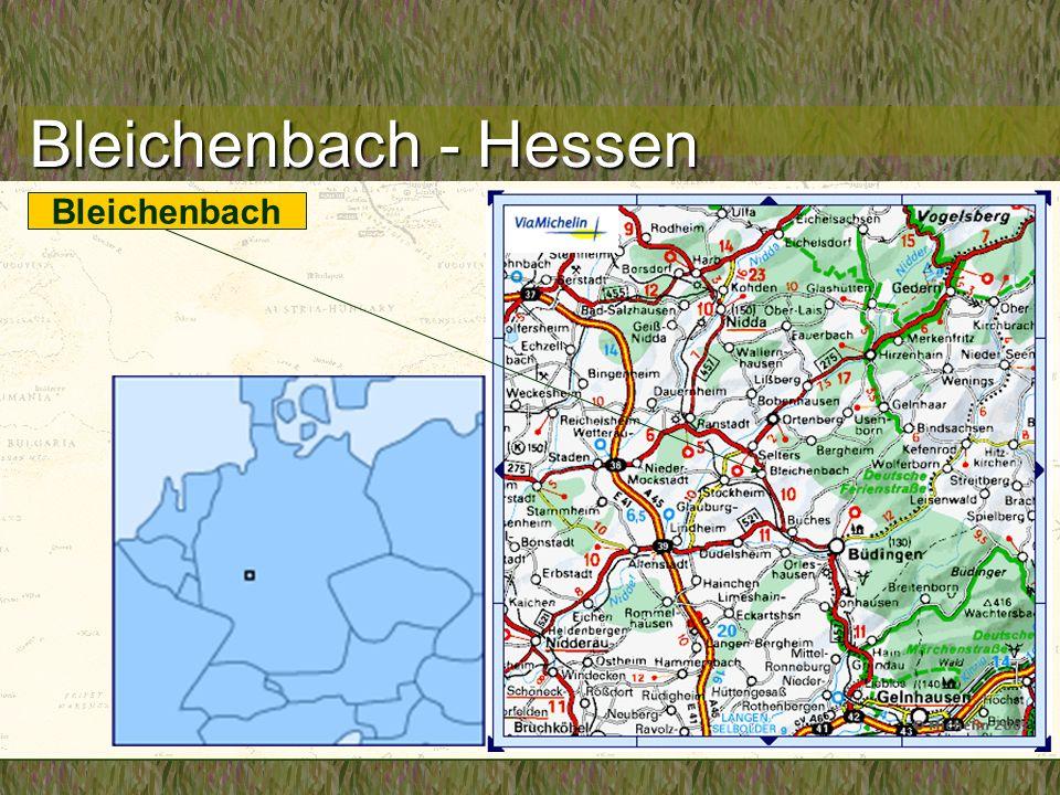 Bleichenbach - Hessen Bleichenbach