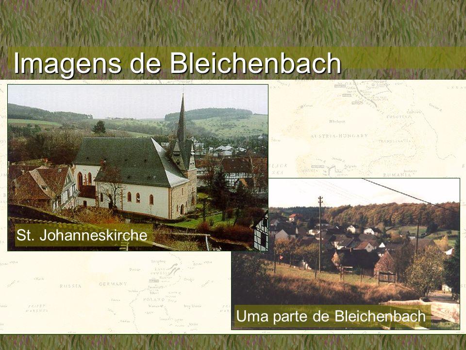 Imagens de Bleichenbach Uma parte de Bleichenbach St. Johanneskirche
