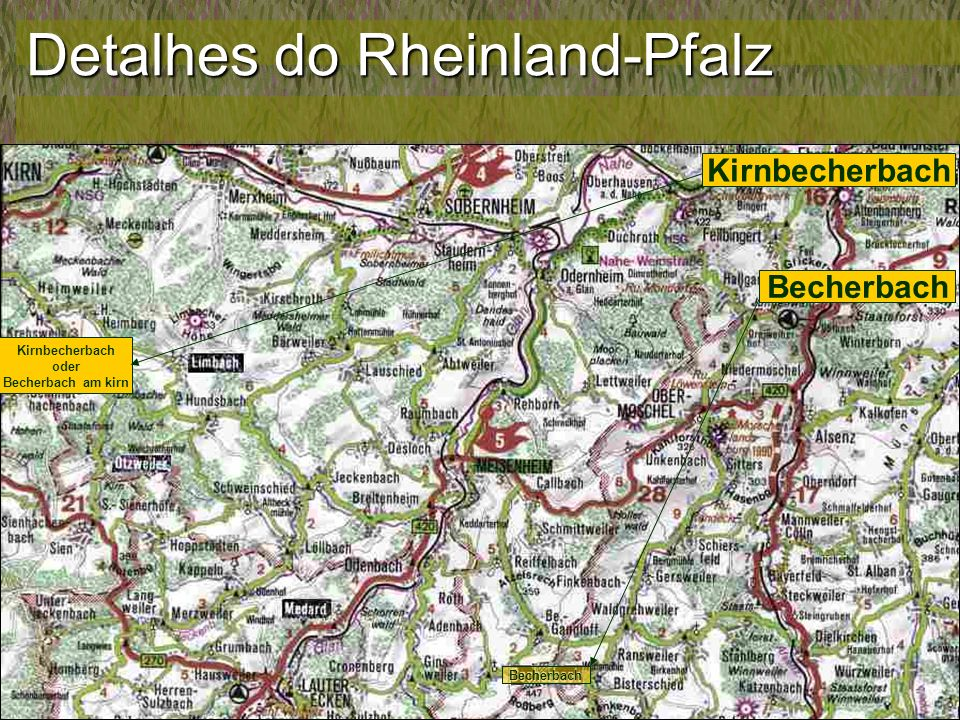 A Vinda da Família de Johann Heinrich - Primeiros dados Johann Heinrich Emmerich e Charlotte Hess Emmerich Registrados no Consistório provisório de Bleichenbach, pequena aldeia do Hessen.