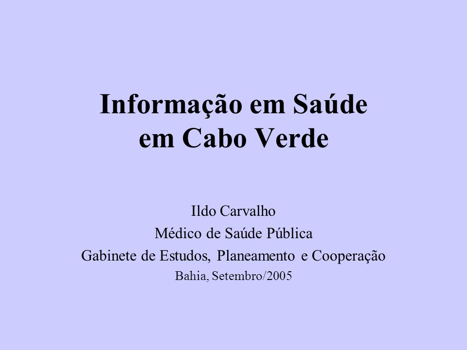 12 Número de Pessoas que vivem com HIV/Sida Cabo Verde, 1987-2004