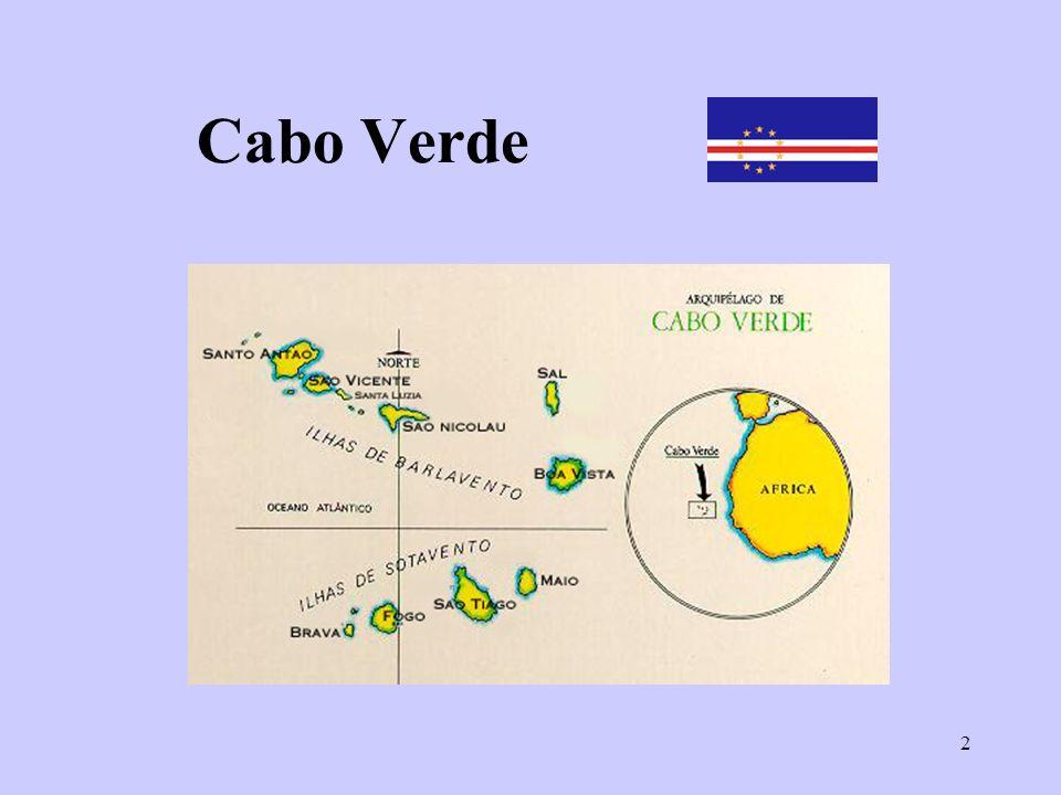 3 Mapa de Cabo Verde