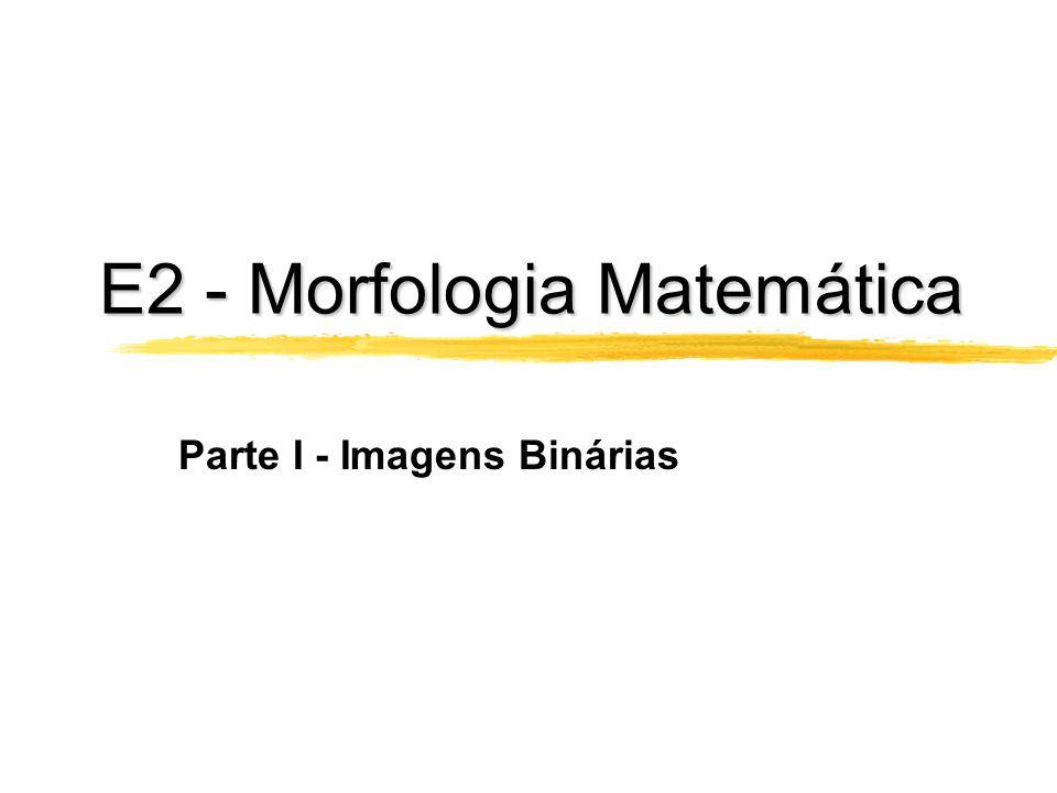 E1. Operações Genéricas de Convolução Requisitos para E1.1 e E1.2 Duas entradas: imagem e matriz de convolução Ler as duas entradas tanto em P2 como e