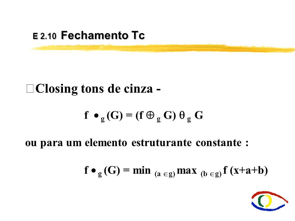 Morfologia Matemática - Dilatação em Cores O que é escuro é realçado....