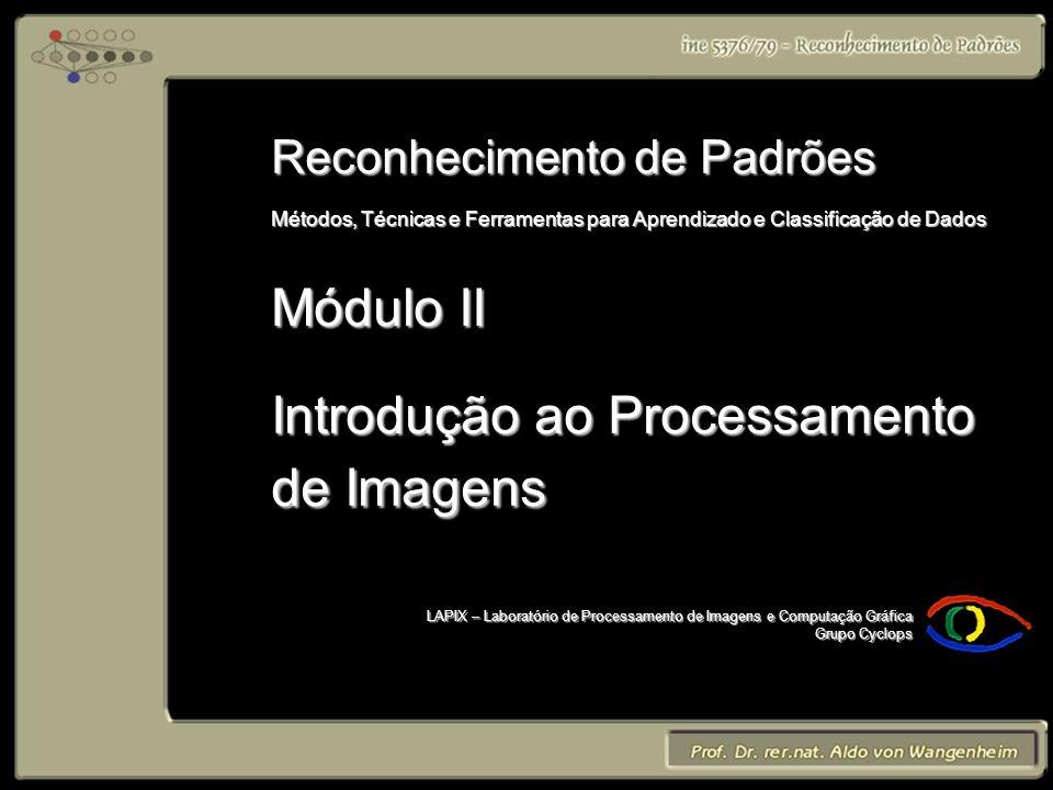 LAPIX – Laboratório de Processamento de Imagens e Computação Gráfica Grupo Cyclops Reconhecimento de Padrões Métodos, Técnicas e Ferramentas para Apre