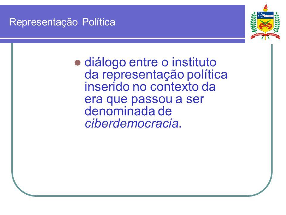 Partidos Políticos Até que ponto a vontade do povo está plenamente respeitada no interior de um sistema político que adota o modelo da democracia representativa partidária?
