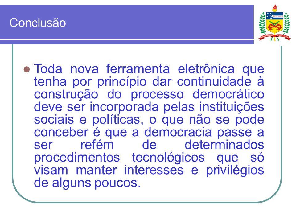 Orides Mezzaroba Universidadade Federal de Santa Catarina, Brasil E-mail orides@ccj.ufsc.br
