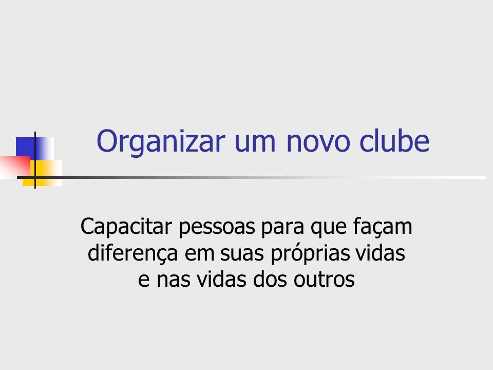 Desenvolver sua equipe de extensão Leões que podem ajudar: Seu assessor de extensão de distrito múltiplo deve estar disponível para orientá-lo no processo de organização do novo clube.