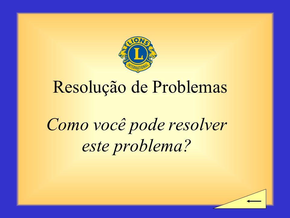 Intervalo? Você precisa de tempo para um intervalo antes de começar a próxima seção sobre Resolução de Problemas?