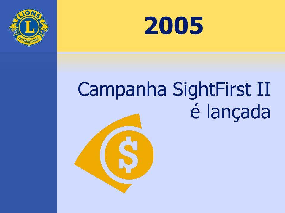 2005 Campanha SightFirst II é lançada