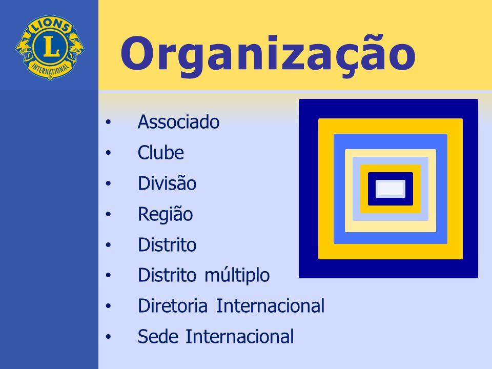 Organização Associado Clube Divisão Região Distrito Distrito múltiplo Diretoria Internacional Sede Internacional