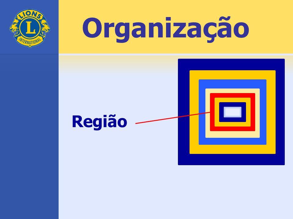 Região Organização