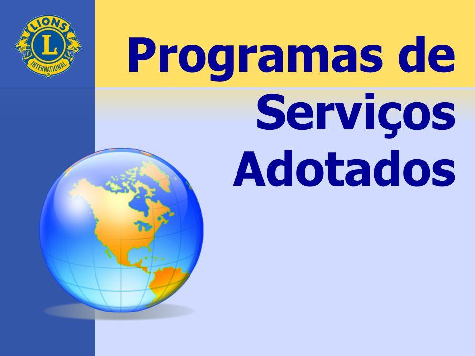 Programas de Serviços Adotados