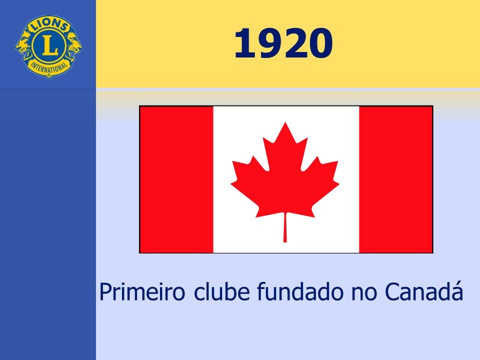 1920 Primeiro clube fundado no Canadá