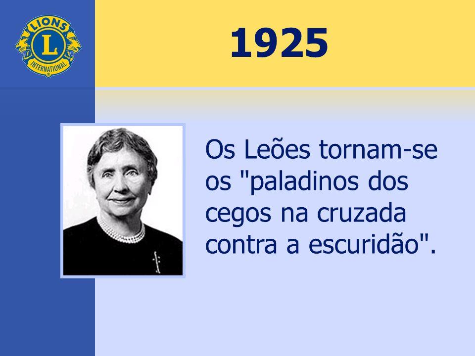 1925 Os Leões tornam-se os