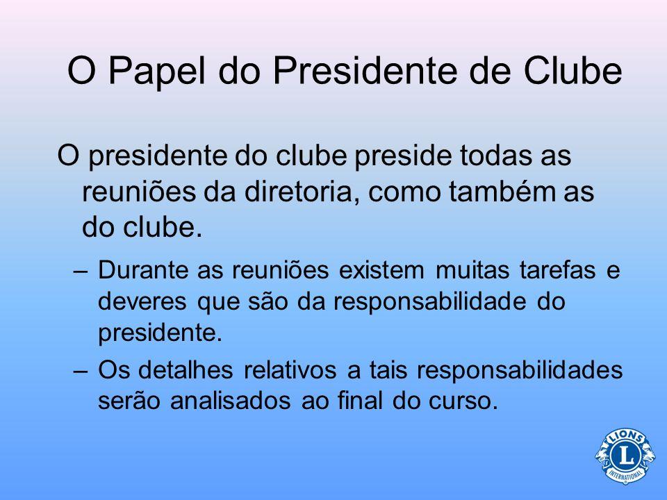Quem faz parte da diretoria do clube? A diretoria é composta pelo: e todos os outros diretores eleitos Coordenador do núcleo Diretor do Quadro Social