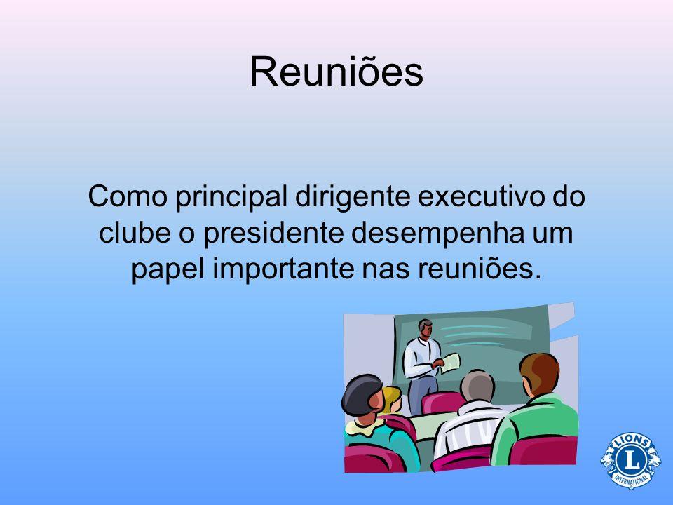 Ex-Presidente Imediato Presidente de Comitê Tesoureiro Diretor Social Secretário Questionário sobre o papel do presidente Quais os cargos que fazem pa