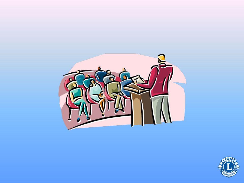 Responsabilidades do presidente na reunião: Questionário sobre Reuniões Coleta das quotas Gerenciar a integração do grupo Usar o procedimento parlamen