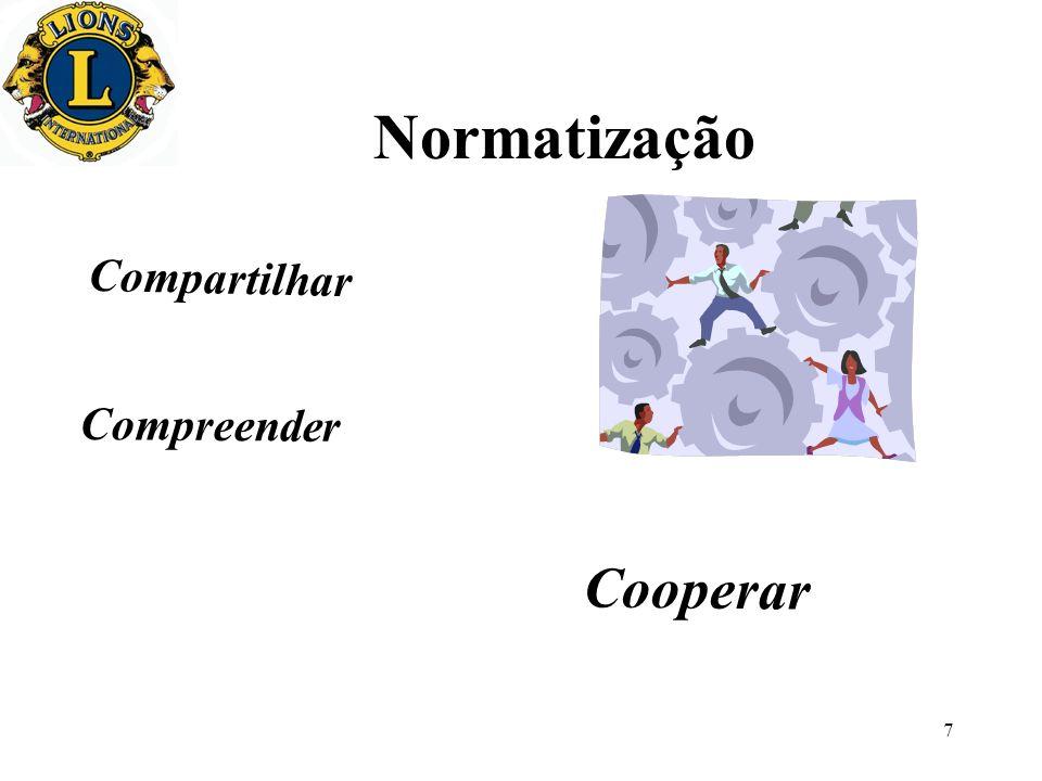 7 Normatização Compartilhar Compreender Cooperar