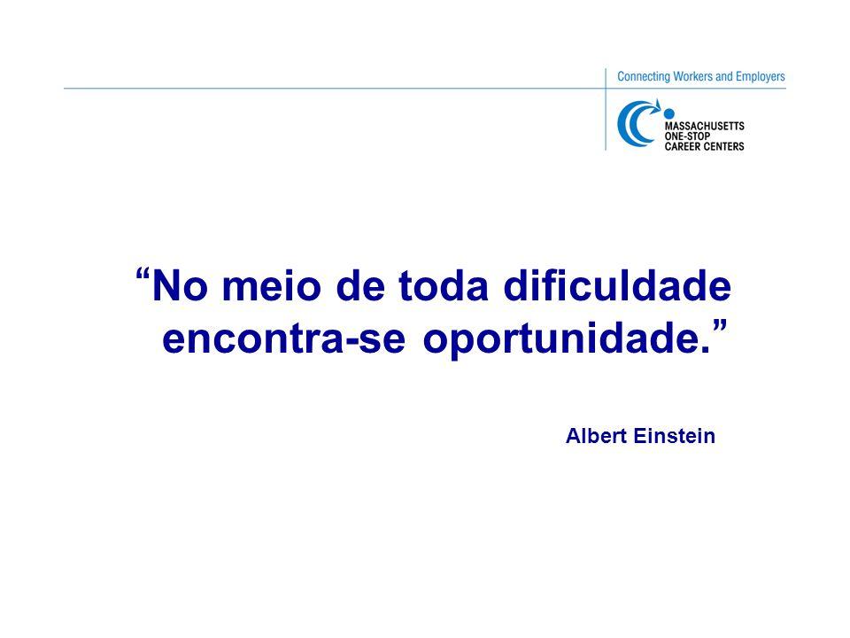 No meio de toda dificuldade encontra-se oportunidade. Albert Einstein