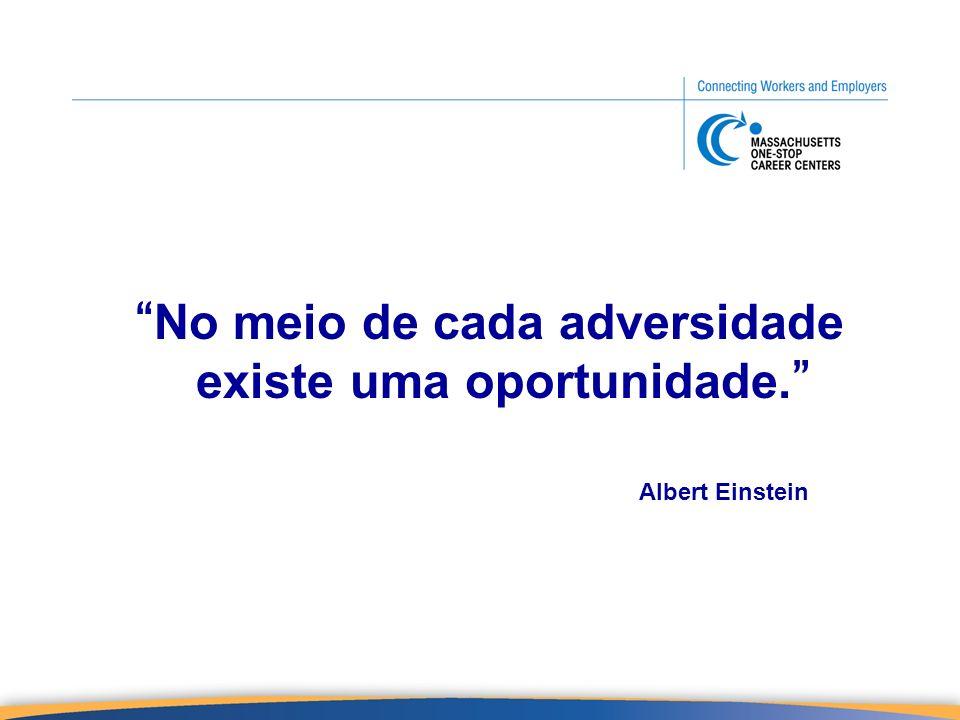 No meio de cada adversidade existe uma oportunidade. Albert Einstein