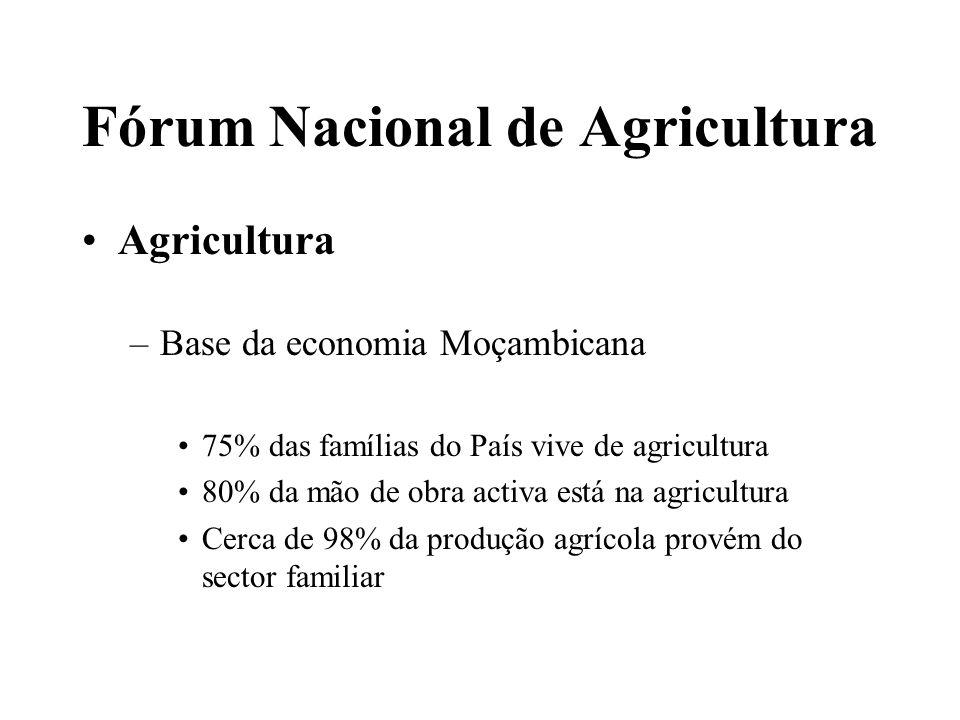 Fórum Nacional de Agricultura Ensino Superior –Responsável por formar técnicos criativo e com liderança – para promover desenvolvimento agrário sustentável