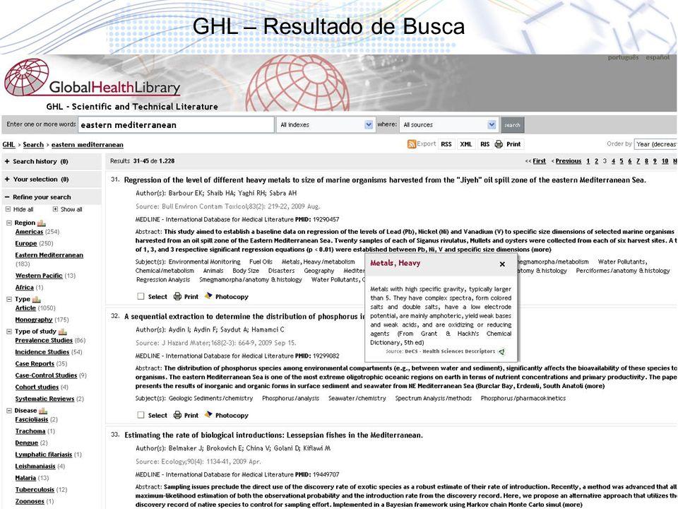 38 GHL – Resultado de Busca