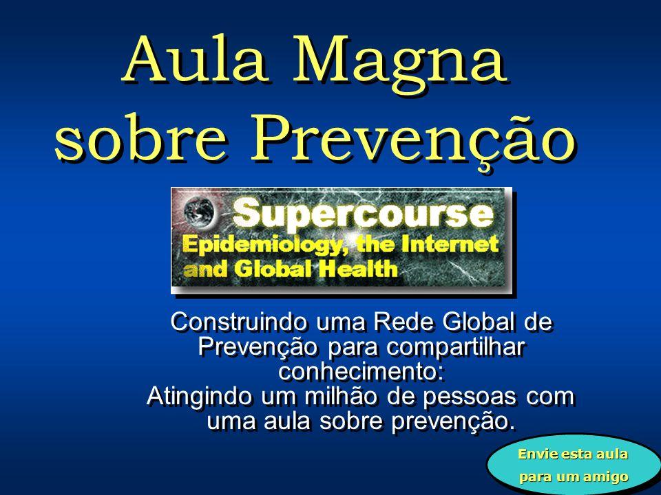 Prevenção e a Internet: A Epidemia da Internet Número de usuários da Internet (milhões) ANO