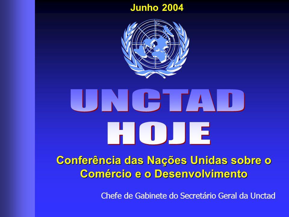 Chefe de Gabinete do Secretário Geral da Unctad Conferência das Nações Unidas sobre o Comércio e o Desenvolvimento Junho 2004