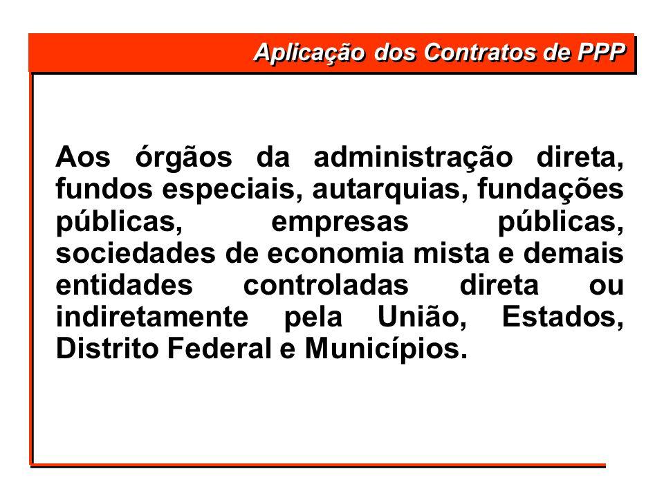Aos órgãos da administração direta, fundos especiais, autarquias, fundações públicas, empresas públicas, sociedades de economia mista e demais entidad