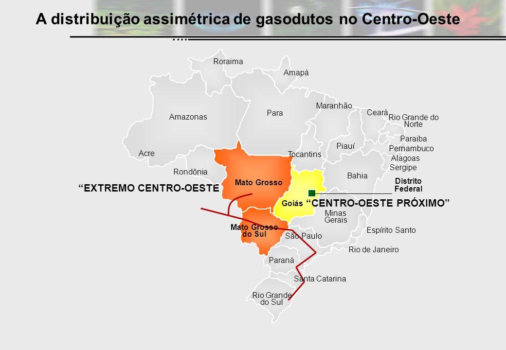 EXTREMO CENTRO-OESTE Roraima Amazonas Acre Rondônia Para Amapá Maranhão Tocantins Piauí Paraná Espírito Santo Minas Gerais Rio de Janeiro Bahia Sergip