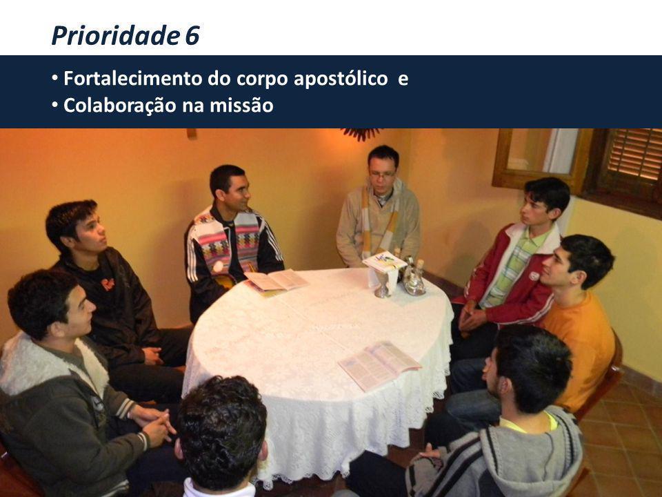 CORRESPONSÁVEIS NA MISSÃO Projeto Apostólico Comum 2011-2020