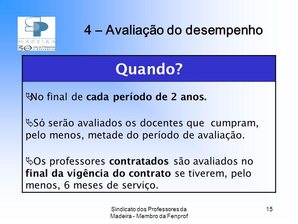 Sindicato dos Professores da Madeira - Membro da Fenprof 15 Quando.