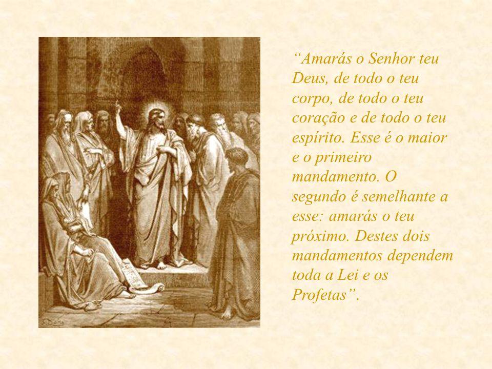 Por sua vez, calaram-se os saduceus. Os fariseus intervêm. Contudo, não ficaram descontentes por Jesus ter confundido aqueles adversários comuns; houv